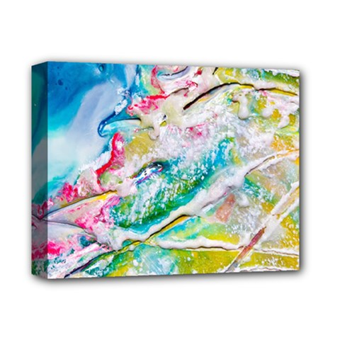 Art Abstract Abstract Art Deluxe Canvas 14  X 11  by Nexatart
