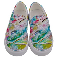 Art Abstract Abstract Art Men s Canvas Slip Ons