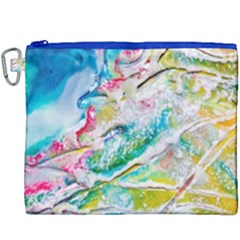 Art Abstract Abstract Art Canvas Cosmetic Bag (xxxl) by Nexatart