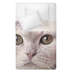 Cat Pet Cute Art Abstract Vintage Duvet Cover Double Side (single Size) by Nexatart