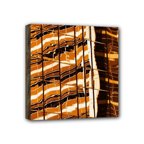Abstract Architecture Background Mini Canvas 4  X 4