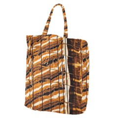 Abstract Architecture Background Giant Grocery Zipper Tote