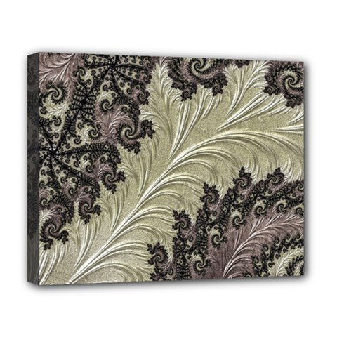 Pattern Decoration Retro Deluxe Canvas 20  X 16