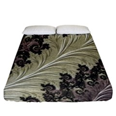 Pattern Decoration Retro Fitted Sheet (california King Size)