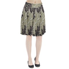 Pattern Decoration Retro Pleated Skirt