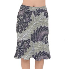 Pattern Decoration Retro Mermaid Skirt