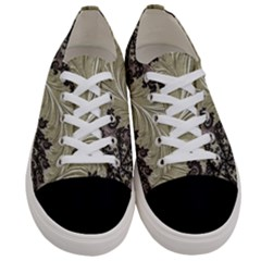 Pattern Decoration Retro Women s Low Top Canvas Sneakers