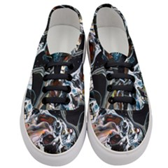 Abstract Flow River Black Women s Classic Low Top Sneakers