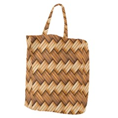 Basket Fibers Basket Texture Braid Giant Grocery Zipper Tote