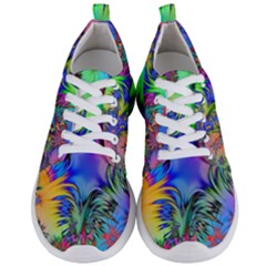 Star Abstract Colorful Fireworks Men s Lightweight Sports Shoes