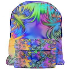 Star Abstract Colorful Fireworks Giant Full Print Backpack