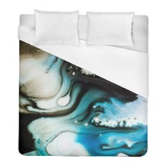 Abstract Painting Background Modern Duvet Cover (full/ Double Size)