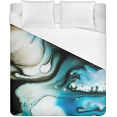 Abstract Painting Background Modern Duvet Cover (california King Size) by Nexatart