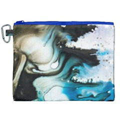 Abstract Painting Background Modern Canvas Cosmetic Bag (xxl) by Nexatart