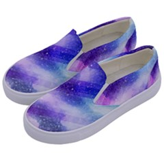 Background Art Abstract Watercolor Kids  Canvas Slip Ons by Nexatart