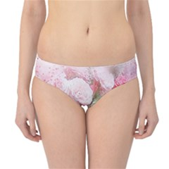 Flowers Roses Art Abstract Nature Hipster Bikini Bottoms