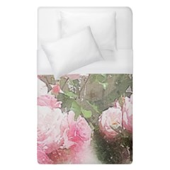 Flowers Roses Art Abstract Nature Duvet Cover (single Size)