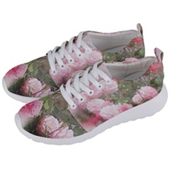Flowers Roses Art Abstract Nature Men s Lightweight Sports Shoes by Nexatart