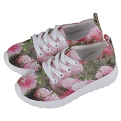 Flowers Roses Art Abstract Nature Kids  Lightweight Sports Shoes by Nexatart