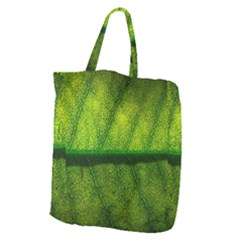 Leaf Nature Green The Leaves Giant Grocery Zipper Tote