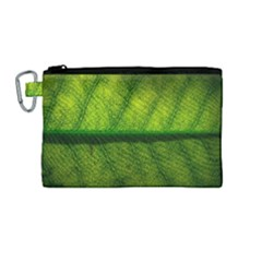 Leaf Nature Green The Leaves Canvas Cosmetic Bag (medium)