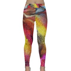 Background Art Abstract Watercolor Classic Yoga Leggings by Nexatart