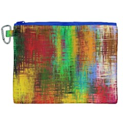 Color Abstract Background Textures Canvas Cosmetic Bag (xxl)