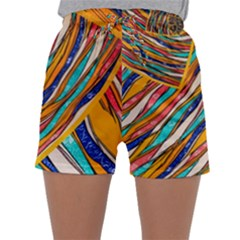 Fabric Texture Color Pattern Sleepwear Shorts