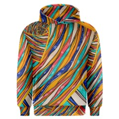 Fabric Texture Color Pattern Men s Overhead Hoodie