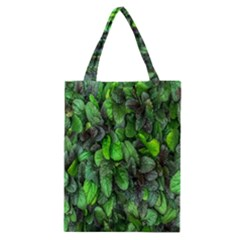 The Leaves Plants Hwalyeob Nature Classic Tote Bag by Nexatart