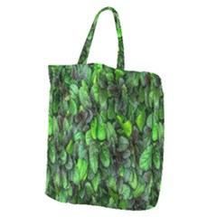 The Leaves Plants Hwalyeob Nature Giant Grocery Zipper Tote