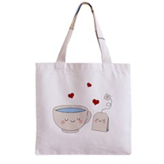 Cute Tea Grocery Tote Bag