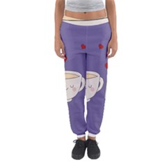 Cute Tea Women s Jogger Sweatpants