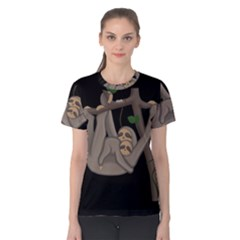 Cute Sloth Women s Cotton Tee