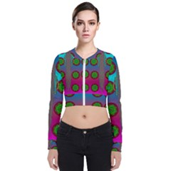 Meditative Abstract Temple Of Love And Meditation Bomber Jacket