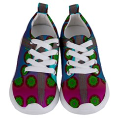 Meditative Abstract Temple Of Love And Meditation Kids  Lightweight Sports Shoes