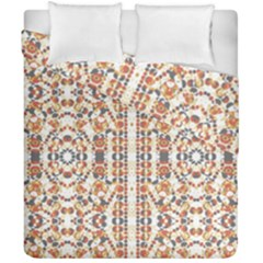 Multicolored Geometric Pattern  Duvet Cover Double Side (california King Size) by dflcprints