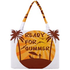 Ready For Summer Mini Tote Bag by Melcu