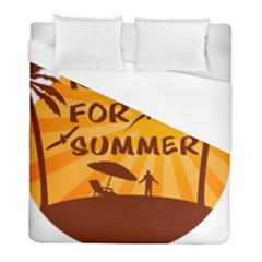 Ready For Summer Duvet Cover (full/ Double Size) by Melcu