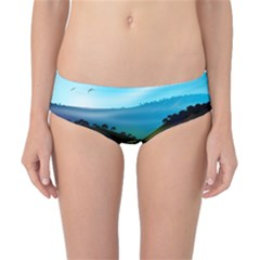 Morning Mist Classic Bikini Bottoms by ValleyDreams