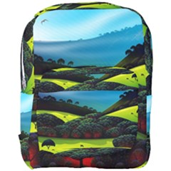 Morning Mist Full Print Backpack by ValleyDreams