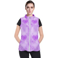 Soft Hearts D Women s Puffer Vest