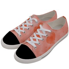 Soft Hearts C Women s Low Top Canvas Sneakers by MoreColorsinLife