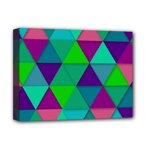 Background Geometric Triangle Deluxe Canvas 16  X 12