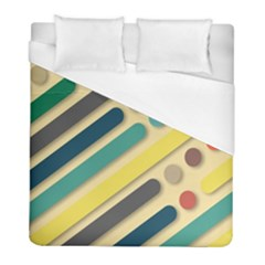 Background Vintage Desktop Color Duvet Cover (full/ Double Size)