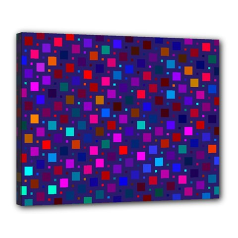 Squares Square Background Abstract Canvas 20  X 16