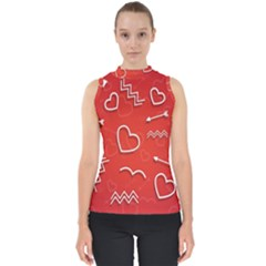 Background Valentine S Day Love Shell Top by Nexatart