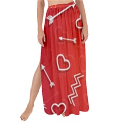Background Valentine S Day Love Maxi Chiffon Tie-up Sarong