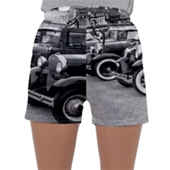 Vehicle Car Transportation Vintage Sleepwear Shorts