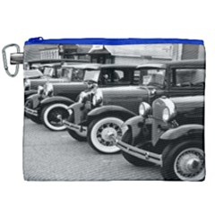 Vehicle Car Transportation Vintage Canvas Cosmetic Bag (xxl) by Nexatart
